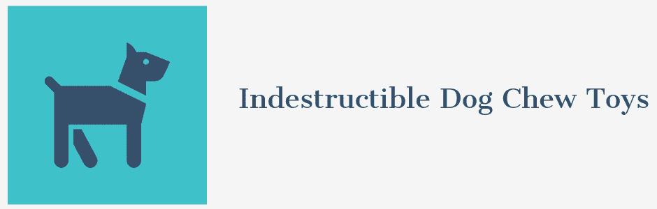 Indestructible Dog Chew Toys